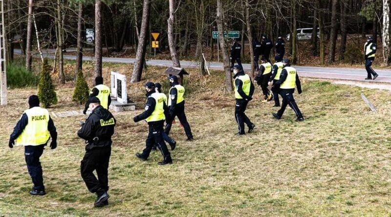 poszukiwania zaginionej fot. OSP Kobyla Góra