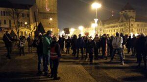 Poznań: Strajk Kobiet w 39. rocznicę wprowadzenia stanu wojennego