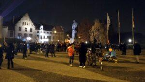 Strajk Kobiet na placu Mickiewicza