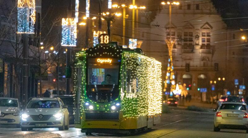 Świąteczna Bimba MPK Poznań 2020 fot. Sławek Wąchała