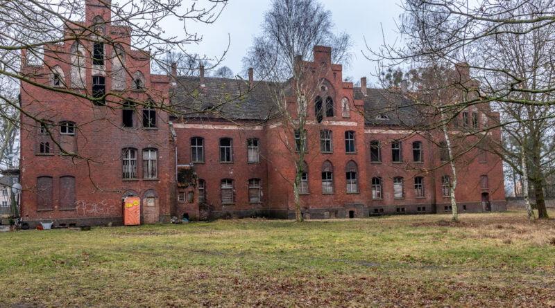 Owińska Szpital psychiatryczny w Owińskach fot. Sławek Wąchała