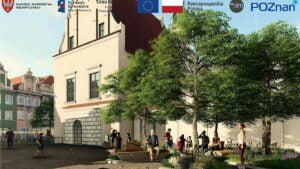 wizualizacja starego rynku po przebudowie fot. pim4 300x169 - Poznań: Ruszył przetarg na remont płyty Starego Rynku
