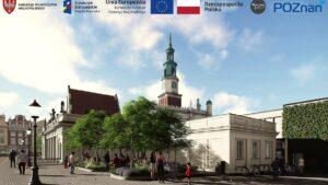 wizualizacja starego rynku po przebudowie fot. pim5 300x169 - Poznań: Ruszył przetarg na remont płyty Starego Rynku