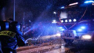 woz dla zielatkowa fot. wuw 300x169 - Wielkopolska: Sześć nowych wozów strażackich za frekwencję już dojechało