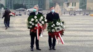 wprowadzenie stanu wojennego 39. rocznica3 300x169 - Poznań: Kwiaty na 39. rocznicę wprowadzenia stanu wojennego