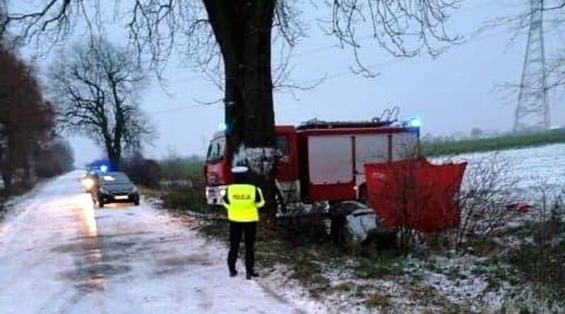 wypadek fot. policja Jarocin