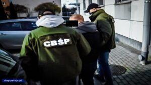 zatrzymani fot. cbsp 300x169 - Poznań: Narkotyki w... puszkach z farbą