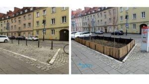 zielen chwaliszewo fot. zdm 300x169 - Poznań: Nowa zieleń na Chwaliszewie