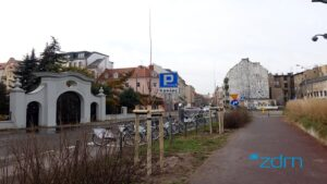 zielen chwaliszewo fot. zdm3 300x169 - Poznań: Nowa zieleń na Chwaliszewie