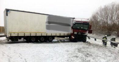 Archiwum: A2 ciężarówka fot. policja Poznań