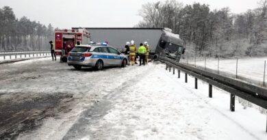 Archiwum: ciężarówka fot. policja