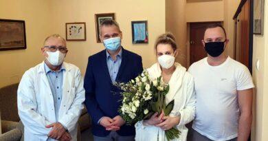 Gratulacje dla rodziców pięcioraczków od prezydenta fot. UMP