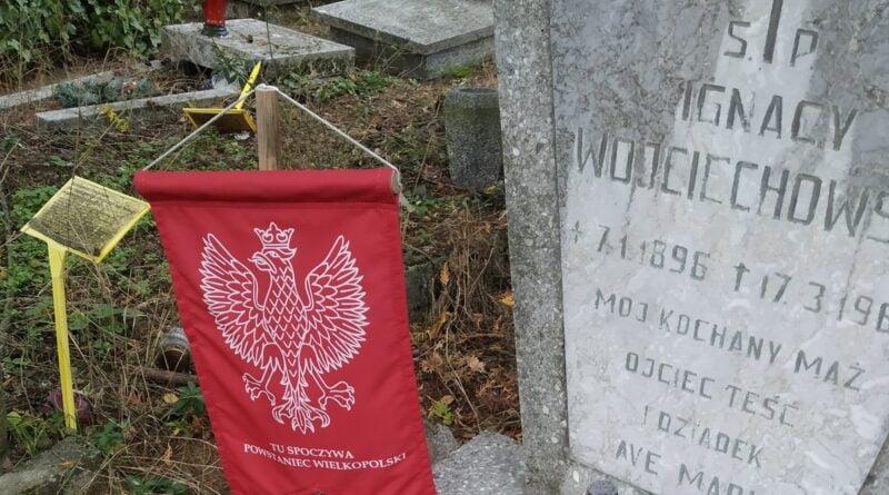 grób Powstańca Wielkopolskiego fot. K. Adamska