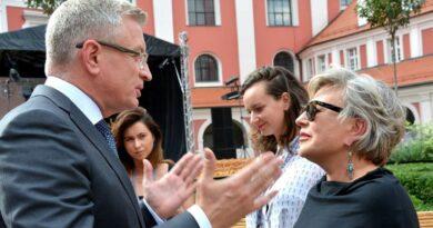 Jacek Jaśkowiak i Krystyna Janda fot. UMP