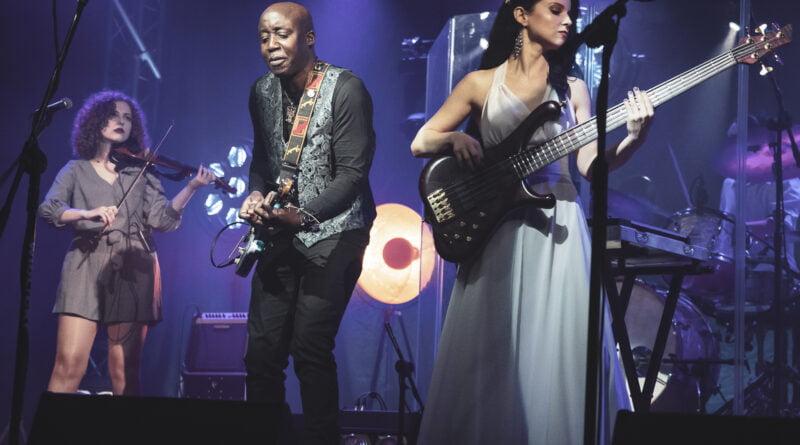 Joanna Dudkowska Band feat. Chuc Frazier Koncert Noworoczny fot. Magda Zając