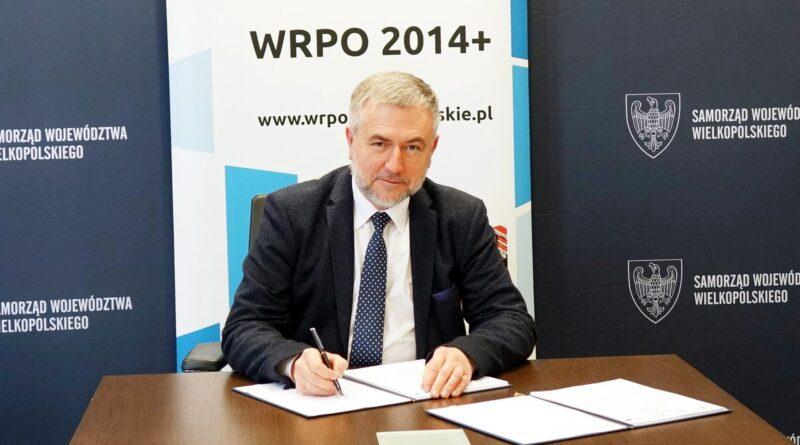 Marszałek Marek Woźniak WRPO Czerwonak fot. UMWW