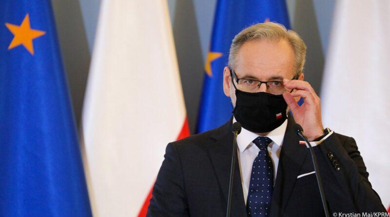 minister Adam Niedzielski fot. KPRM