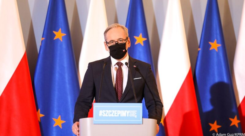 minister Adam Niedzielski, fot. KPRM