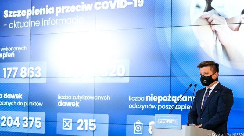 minister Michał Dworczyk fot. KPRM