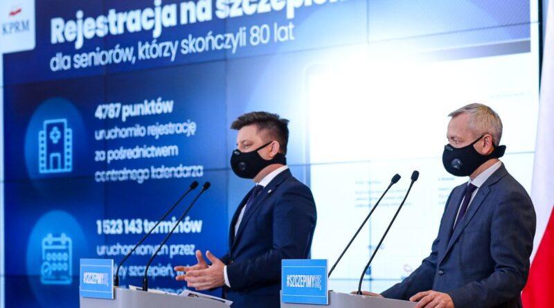 minister Michał Dworczyk, minister Marek Zagórski fot. KPRM