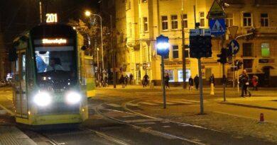 nocny tramwaj fot. ZTM