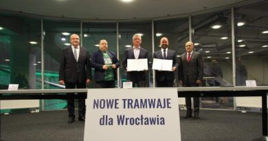 nowe tramwaje dla Wrocławia fot. UMP