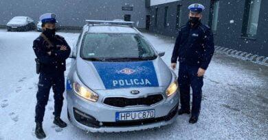 policjanci fot. policja Nowy Tomyśl