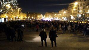 protest po uzasadnieniu wyroku tk strajk kobiet fot. l. lada2 300x169 - Poznań: Kobiety znów wyszły na ulice!