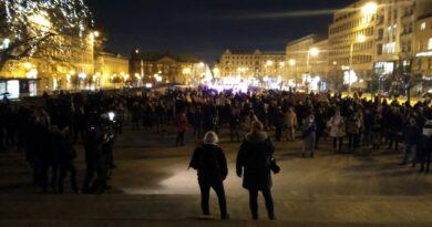 protest po uzasadnieniu wyroku TK, Strajk Kobiet fot. L. Łada