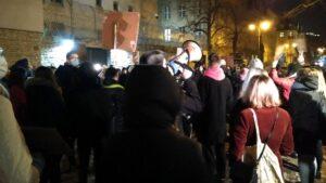 protest po uzasadnieniu wyroku tk strajk kobiet fot. l. lada3 300x169 - Poznań: Kobiety znów wyszły na ulice!