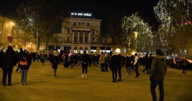 Protest po uzasadnieniu wyroku TK, Strajk Kobiet fot. K. Adamska