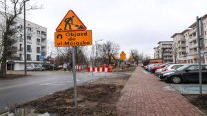 przebudowa ul. mateckiego fot. pim4 300x169 - Poznań: Ruszyła przebudowa ulicy Mateckiego