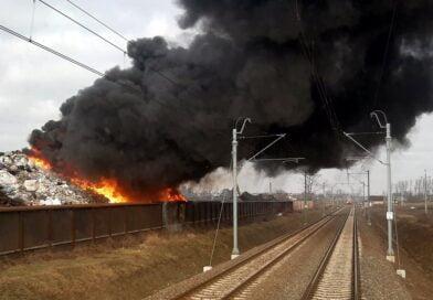 Przysieka Stara pożar fot. Poznań-Leszno