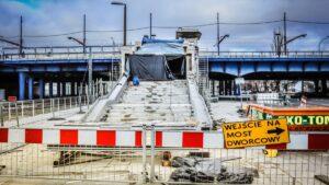 schody Most Dworcowy fot. PIM