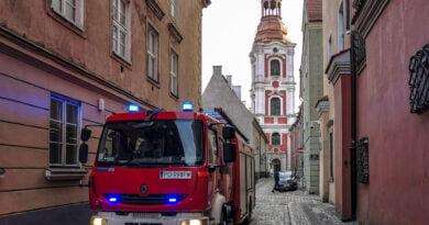 Straż Pożarna PSP OSP pożar strażacy Stare Miasto fot. Sławek Wąchała