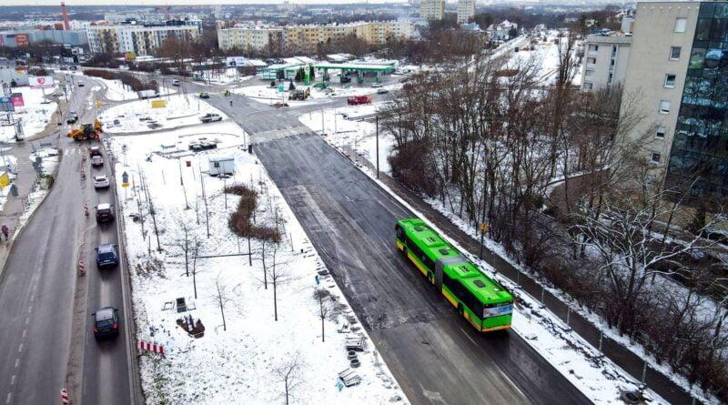 tramwaj na Naramowice fot. PIM