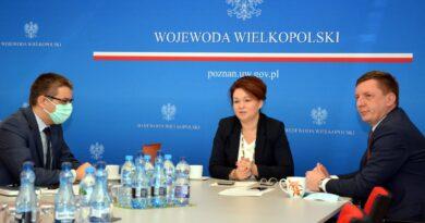 wicewojewoda Aneta Niestrawska, wicewojewoda Maciej Bieniek fot. WUW