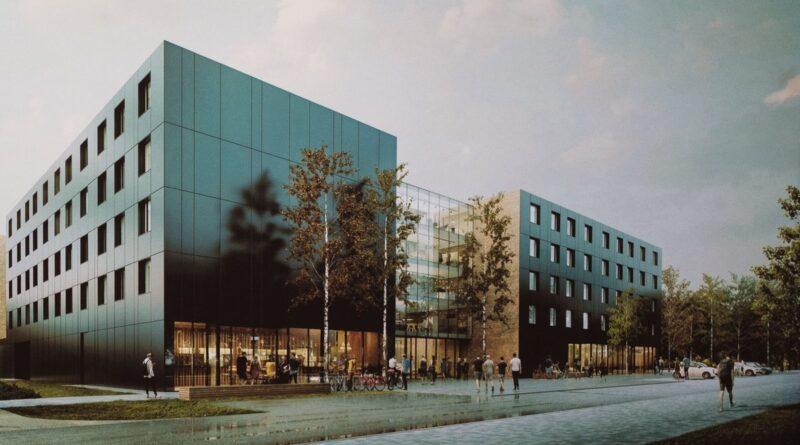 wizualizacja budynku fot. UAM