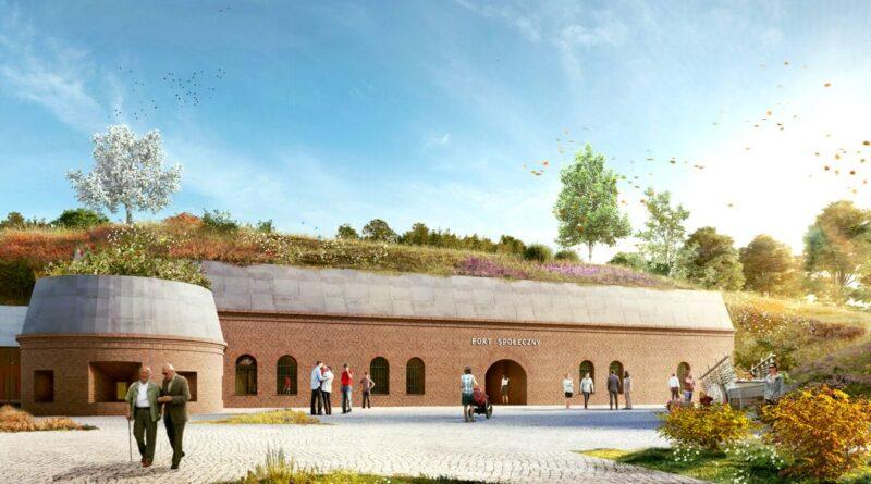 wizualizacja Fortu VIIa fot. Constructa Plus
