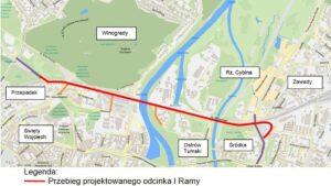 wizualizacja i ramy fot. ump  300x169 - Poznań: Jak będzie biegła Dolna Głogowska i północna część I ramy komunikacyjnej?