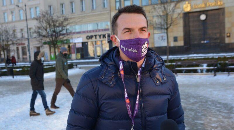 zbiórka dla WOŚP Adam Szłapka fot. K. Adamska