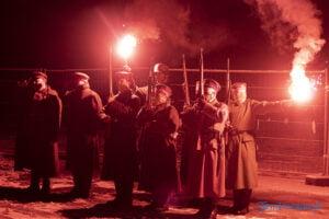 zdobycie lawicy 102 rocznica symbolicznie w pandemiii fot. slawek wachala 8631 300x200 - Poznań: Apel pamięci na Ławicy. W pandemicznym rygorze
