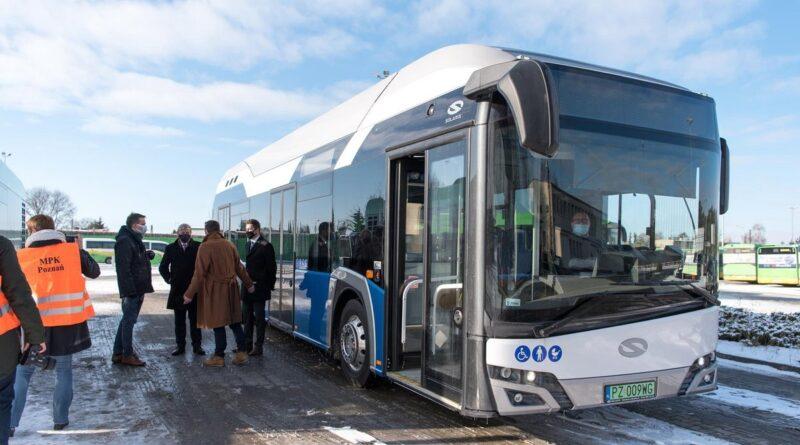 autobus napędzany wodorem fot. MPK