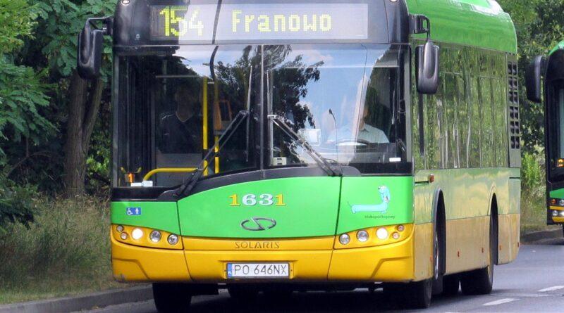 autobus nr 154 fot. ZTM
