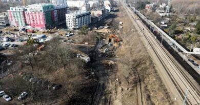 Budowa ul. św. Wawrzyńca fot. PIM