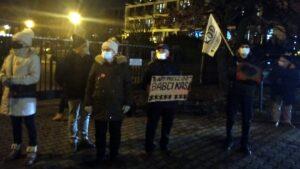 demonstracja przed TVP