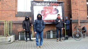 legalna aborcja fot. k. adamska7 300x169 - Poznań: Różaniec i walka o legalną aborcję. A wszystko na Polnej