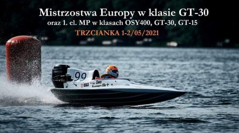 Motorowodne Mistrzostwa Europy fot. UMiG Trzcianka