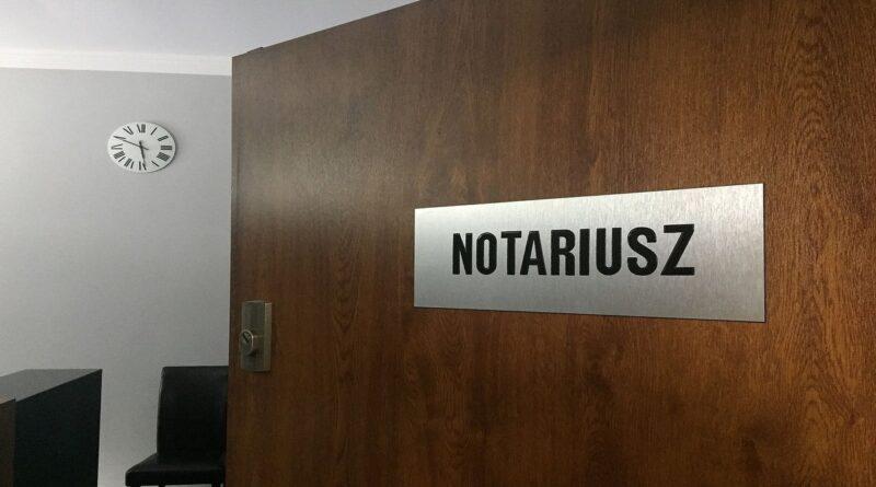 Notariusz - zdjecie ilustracyjne fot. INP