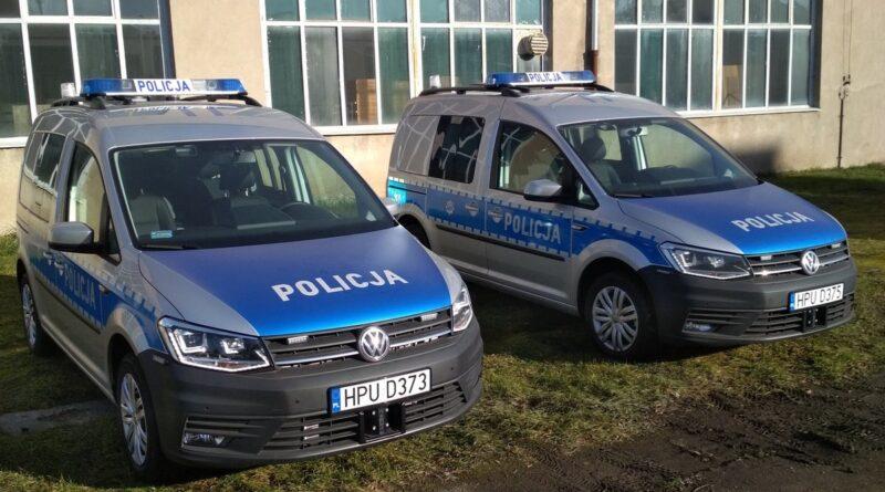 nowe radiowozy fot. policja